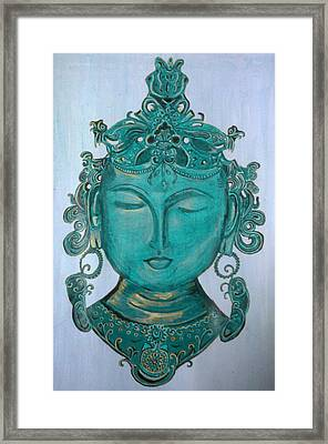 The Sage Framed Print by Karunita Kapoor