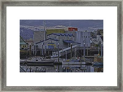 The Sailboat Framed Print