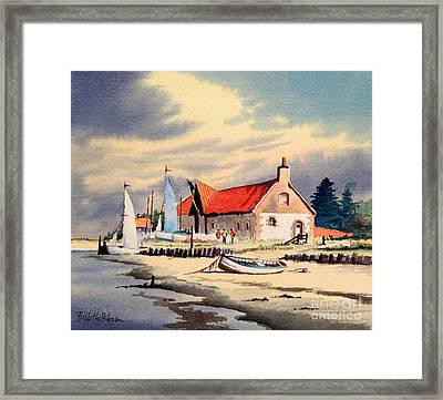 The Sailing Club  Framed Print by Bill Holkham