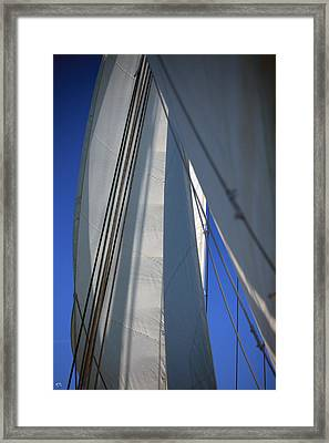 The Sails Framed Print by Karol Livote