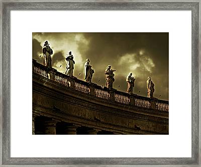 The Saints  Framed Print by Micki Findlay