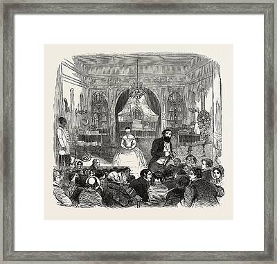 The Salle De Robin, Piccadilly, London Framed Print
