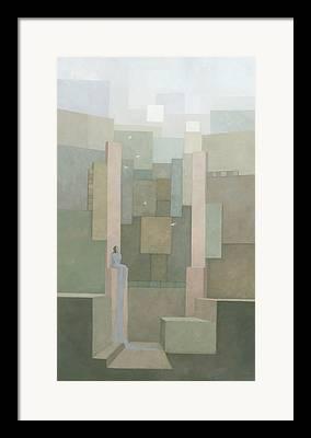 Spiritual Abstract Framed Prints