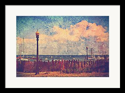 Lamp Post Framed Prints