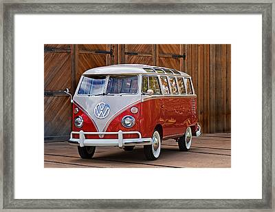 The Samba Framed Print by Peter Tellone