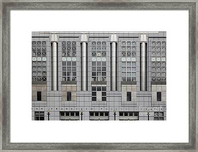 The San Francisco Public Library 5d22600 Framed Print by Wingsdomain Art and Photography