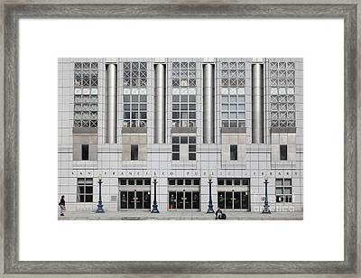 The San Francisco Public Library 5d22601 Framed Print by Wingsdomain Art and Photography