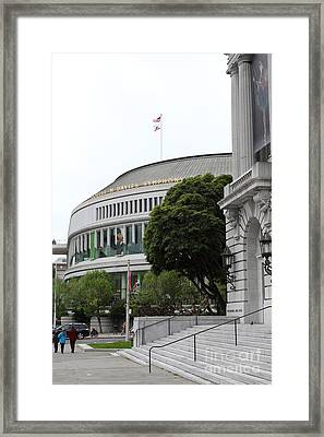 The San Francisco Symphony 5d22487 Framed Print by Wingsdomain Art and Photography