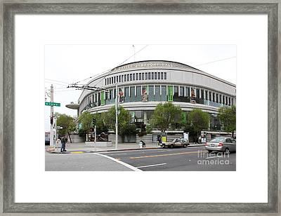 The San Francisco Symphony 5d22488 Framed Print by Wingsdomain Art and Photography