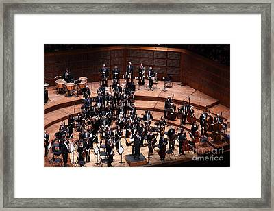The San Francisco Symphony 5d22534 Framed Print by Wingsdomain Art and Photography