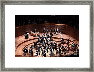 The San Francisco Symphony 5d22538 Framed Print by Wingsdomain Art and Photography