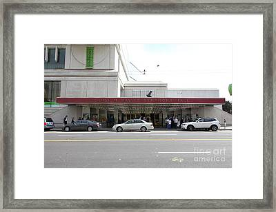 The San Francisco Symphony 5d22557 Framed Print by Wingsdomain Art and Photography