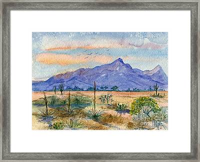 The San Tans Framed Print