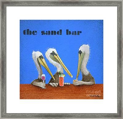 The Sand Bar... Framed Print by Will Bullas