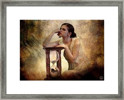 The Sandglass Framed Print by Gun Legler