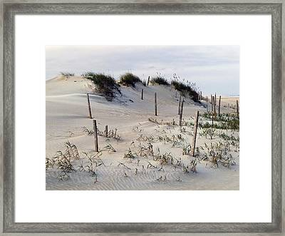 The Sands Of Obx Framed Print