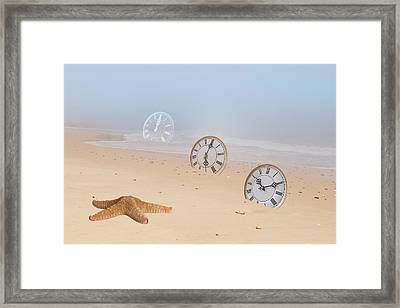 The Sands Of Time Framed Print by Gill Billington