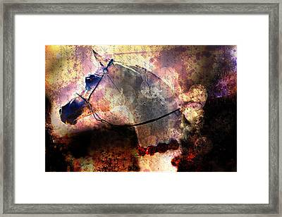 The Sands Of Time Framed Print by Janice OConnor