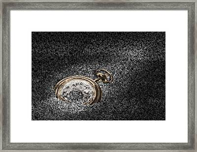 The Sands Of Time Framed Print