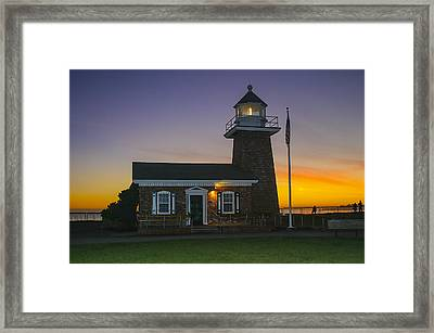 The Santa Cruz Surfing Museum Framed Print