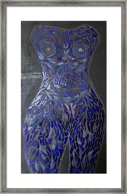 The Sapphire Woman Framed Print by Alison Edwards