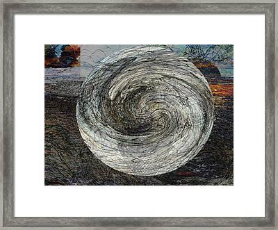 The Saucer #1 / El Platillo #1 Framed Print