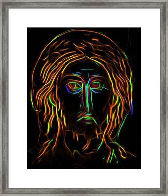 The Savior 1 Framed Print by Yury Malkov