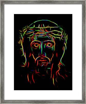 The Saviour Framed Print by Yury Malkov