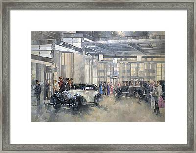 The Savoy  Framed Print by Peter Miller