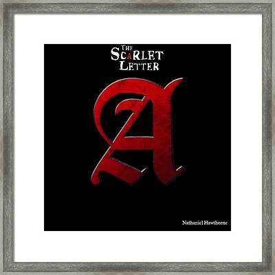 The Scarlet Letter Framed Print by Dan Sproul