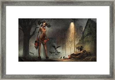 The Scavenger  Framed Print