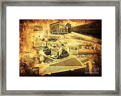 The Scenic City Framed Print by Joe A