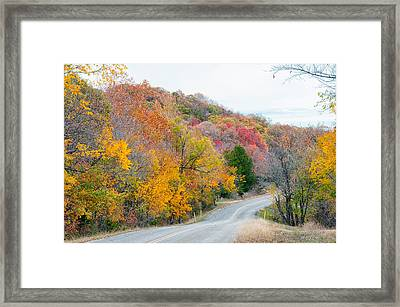 The Scenic Drive Framed Print