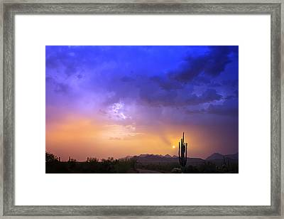 The Scent Of Rain Framed Print