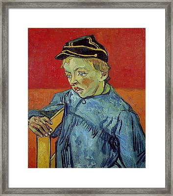 The Schoolboy Framed Print by Vincent Van Gogh
