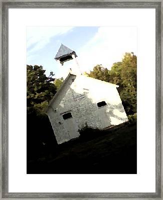 The Schoolhouse Framed Print