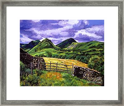 The Scottish Highlands Framed Print