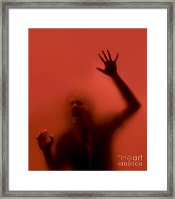 The Scream Framed Print by Diane Diederich