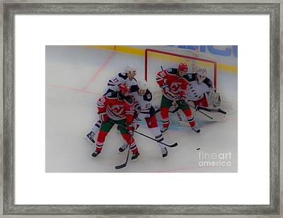 The Screen Framed Print by David Rucker