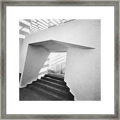The Sculpture Gallery Of Architecture Philip Framed Print by Horst P. Horst