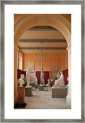 The Sculpture Gallery,interior Framed Print