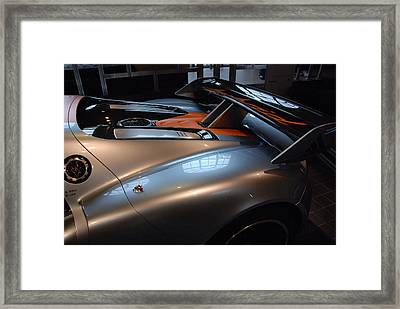The Sculptured Rear 918 R S R Framed Print