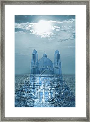 The Sea Church Framed Print