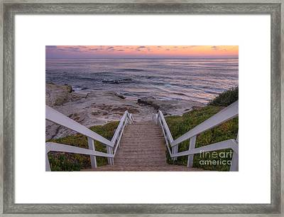 The Sea Is Calling Framed Print by Eddie Yerkish