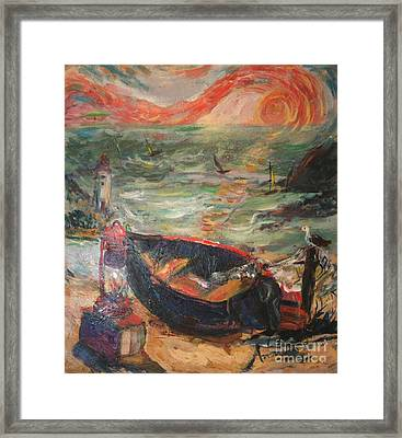 The Sea Of Cortez Framed Print by Avonelle Kelsey
