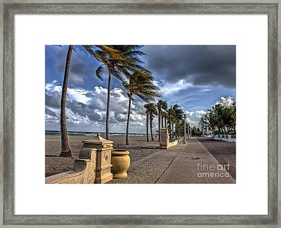 The Sea The Wind And The Road Framed Print by Ines Bolasini