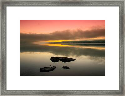 The Sea Framed Print by Thomas Berger