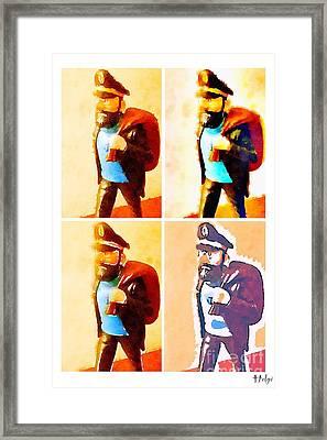 The Seaman Framed Print