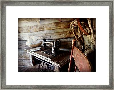 The Seamstress Framed Print by Bill Keiran