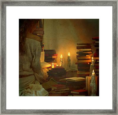The Search Framed Print by Fern Evans